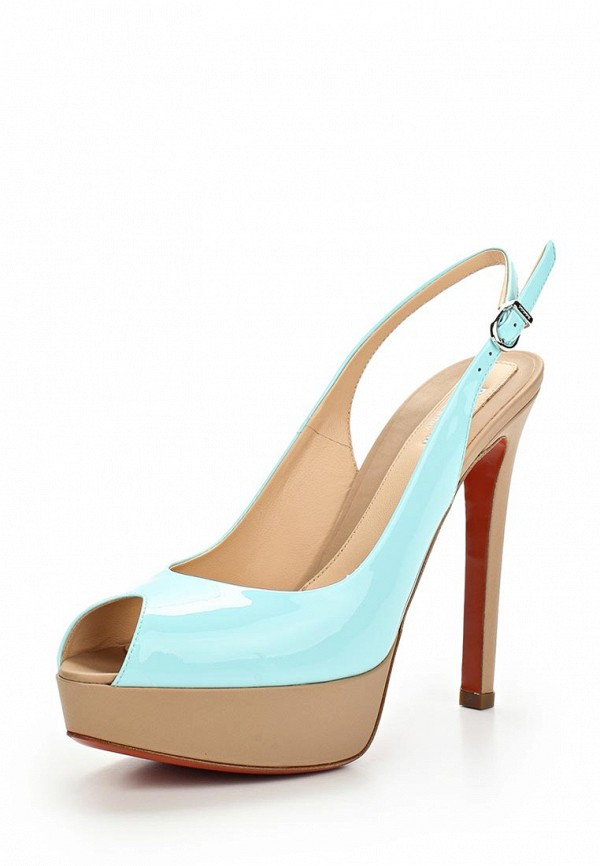 Босоножки на каблуке Baldinini (Балдинини) 550600P91NANDYTYSU: изображение 1