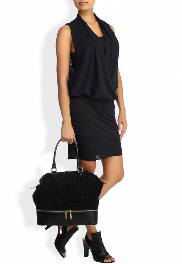 Замшевая сумка Baldinini (Балдинини) 520603CANA0000R: изображение 7