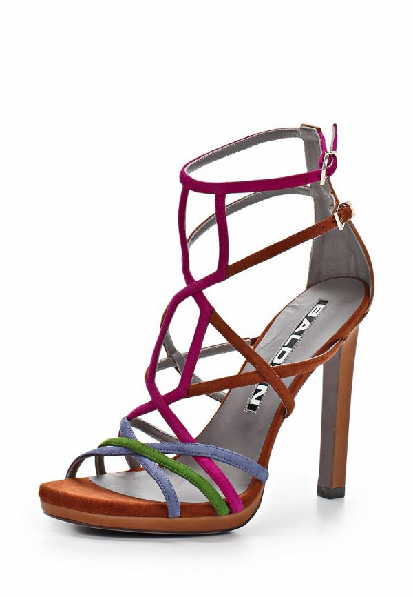 Босоножки на каблуке Baldan 6669: изображение 1