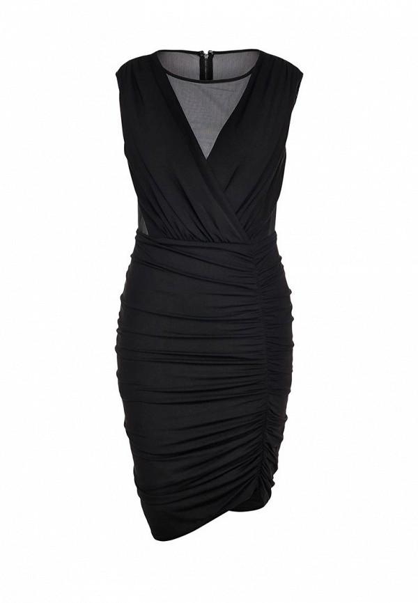 Платье-миди BCBGMAXAZRIA NYC61A64: изображение 1