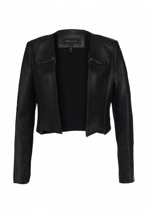 Кожаная куртка BCBGMAXAZRIA NDJ4H142: изображение 1