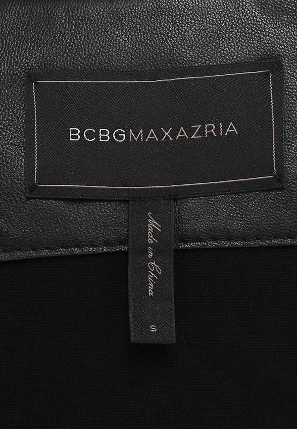 Кожаная куртка BCBGMAXAZRIA NDJ4H142: изображение 3