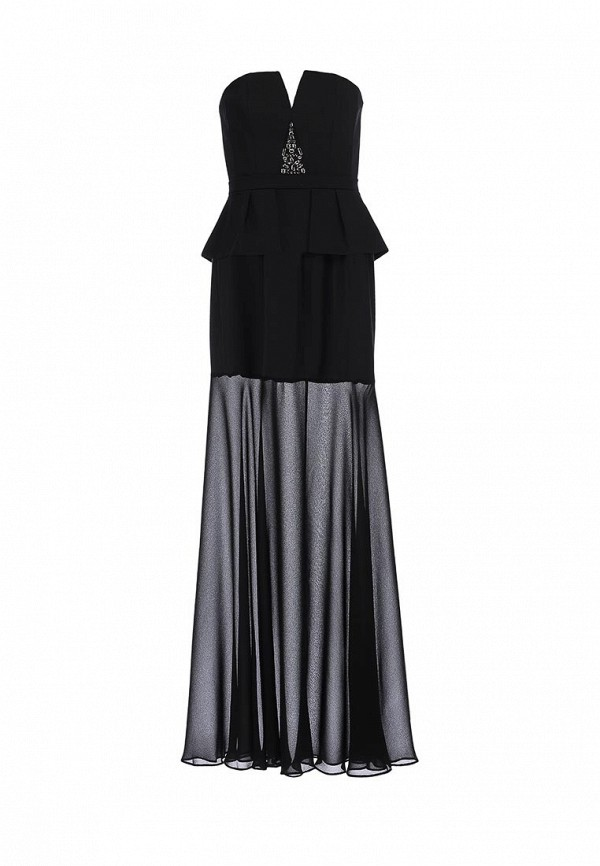 Платье-макси BCBGMAXAZRIA XVR62B58: изображение 1
