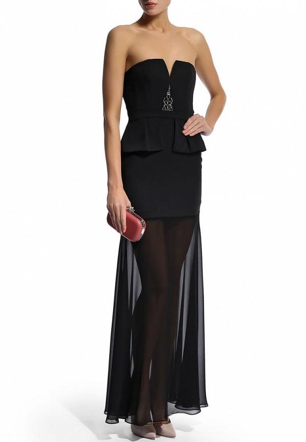Платье-макси BCBGMAXAZRIA XVR62B58: изображение 10