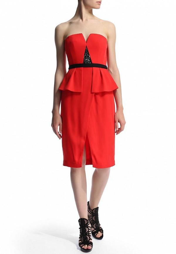Платье-мини BCBGMAXAZRIA XVR67B98: изображение 6