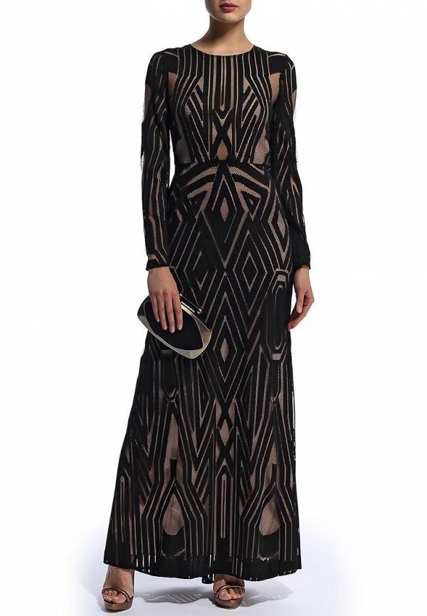 Платье-макси BCBGMAXAZRIA DFX60C05: изображение 4