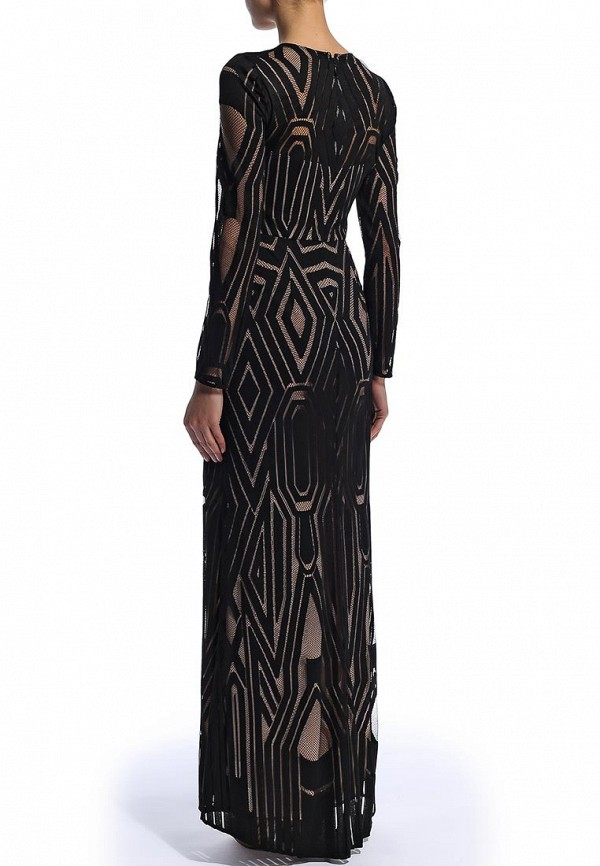Платье-макси BCBGMAXAZRIA DFX60C05: изображение 5