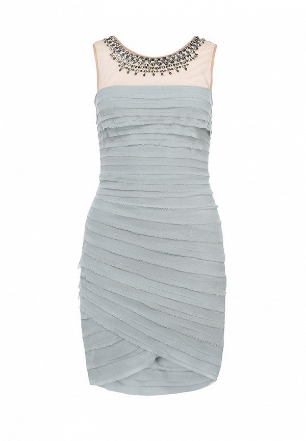 Платье-миди BCBGMAXAZRIA IQI64B39: изображение 1