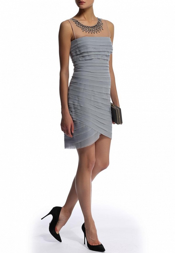 Платье-миди BCBGMAXAZRIA IQI64B39: изображение 7