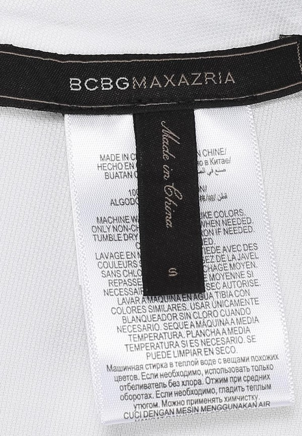 Футболка BCBGMAXAZRIA MPH1S459: изображение 3