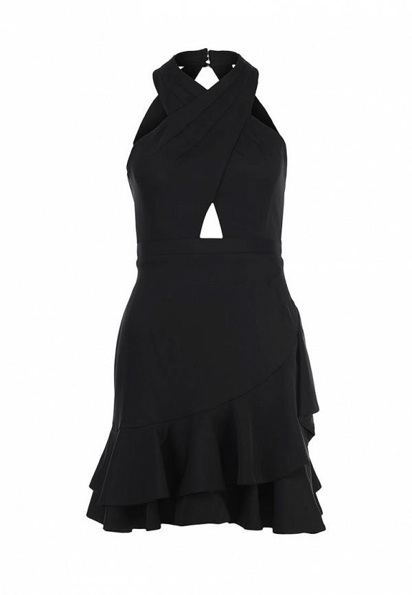 Платье-миди BCBGMAXAZRIA XVR64B30: изображение 1