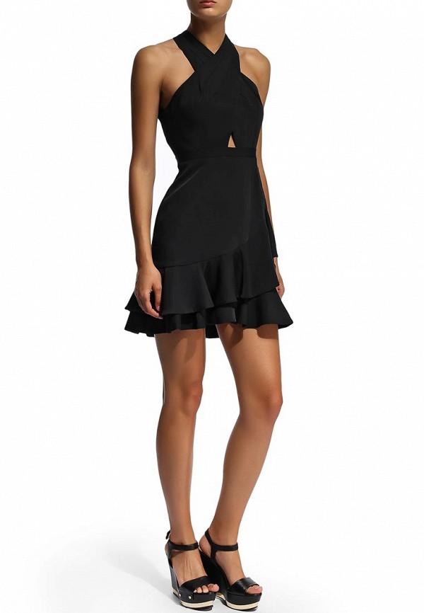 Платье-миди BCBGMAXAZRIA XVR64B30: изображение 6