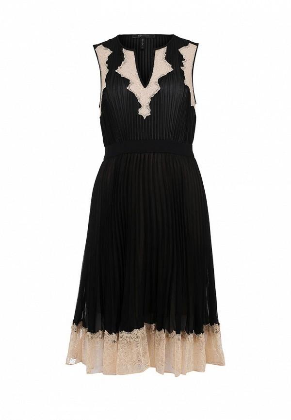 Платье-миди BCBGMAXAZRIA NRQ64A67: изображение 1
