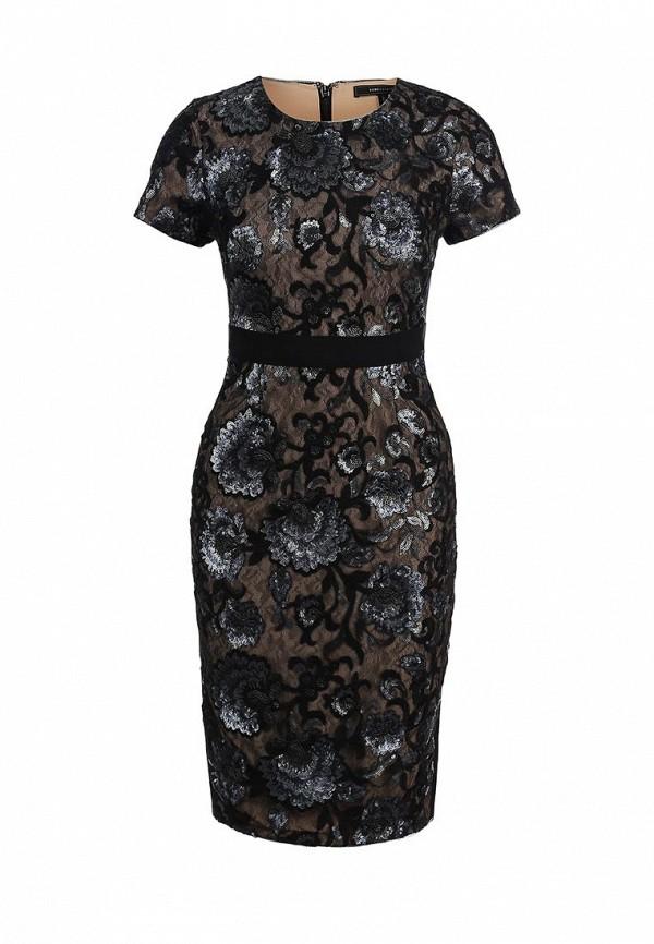 Платье-миди BCBGMAXAZRIA IFB64C59: изображение 1