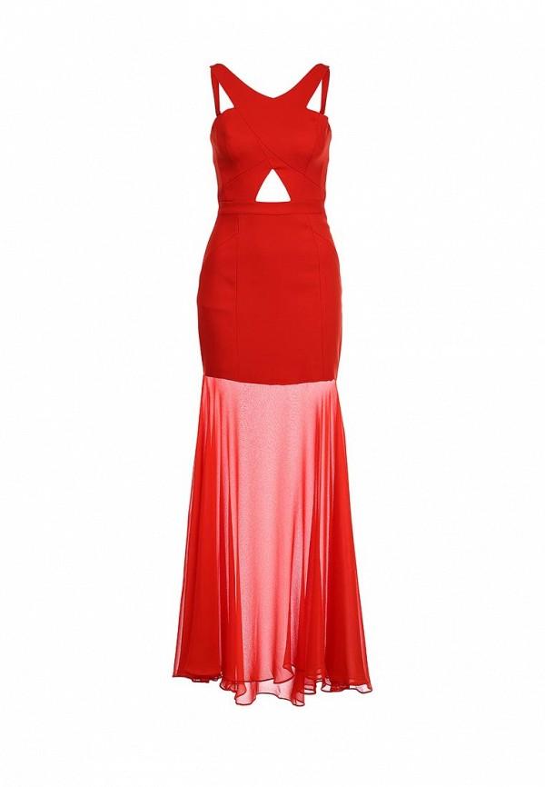 Платье-макси BCBGMAXAZRIA XVR61C25: изображение 1