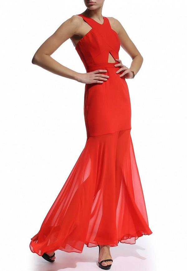 Платье-макси BCBGMAXAZRIA XVR61C25: изображение 3