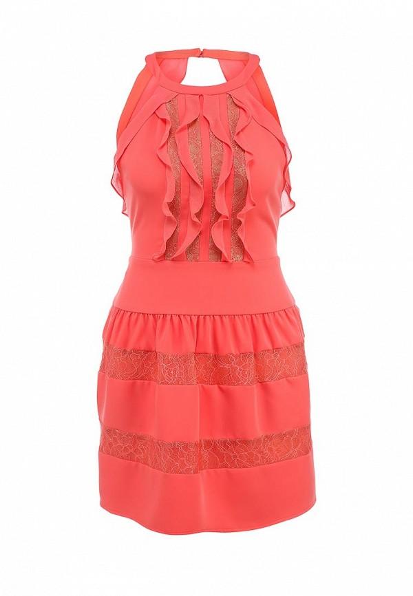 Платье-миди BCBGMAXAZRIA XVR60E92: изображение 1