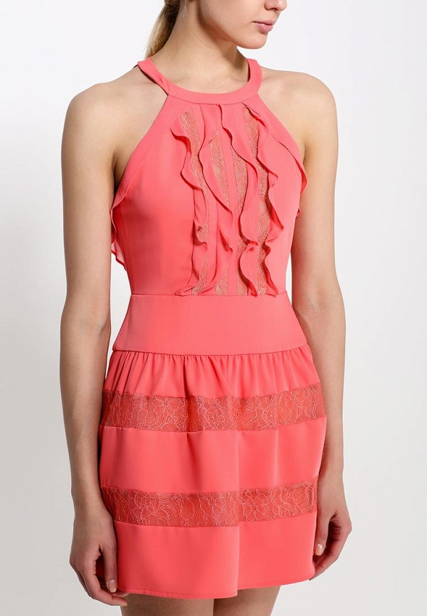 Платье-миди BCBGMAXAZRIA XVR60E92: изображение 2