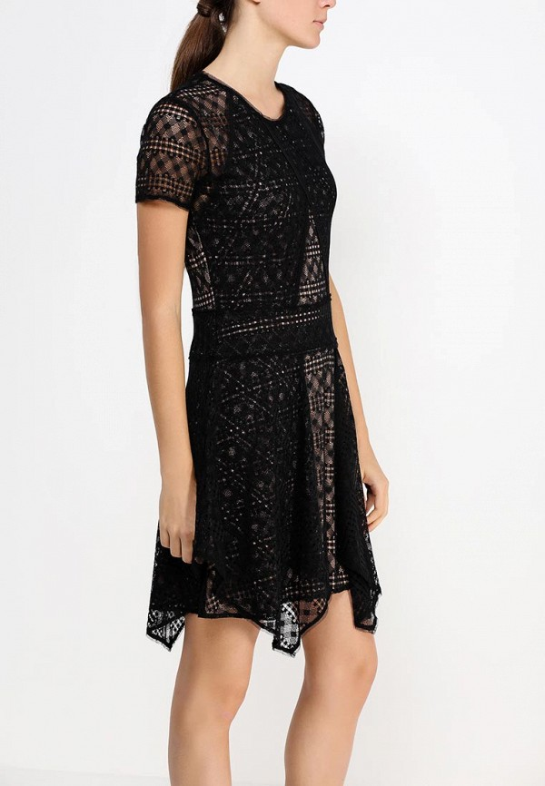 Платье-миди BCBGMAXAZRIA DSX64F01: изображение 2