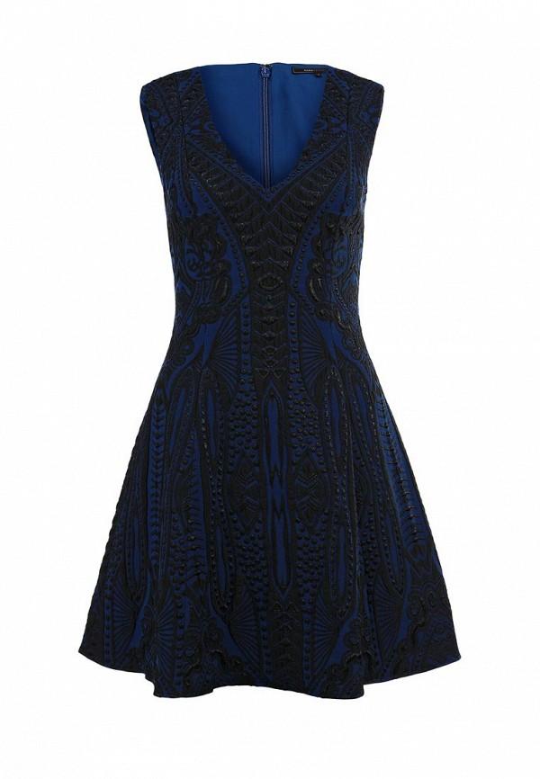 Платье-миди BCBGMAXAZRIA BNN60F44: изображение 1