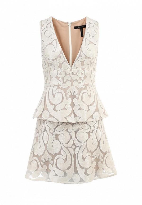 Платье-миди BCBGMAXAZRIA URW60E97: изображение 1