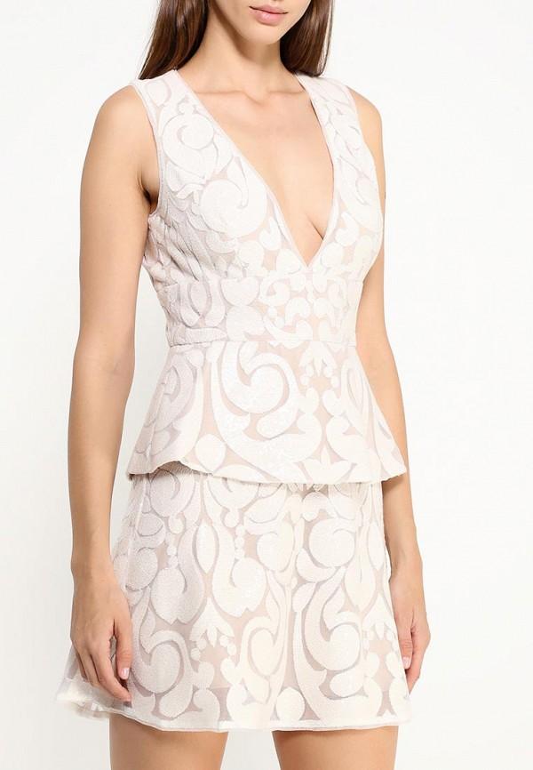 Платье-миди BCBGMAXAZRIA URW60E97: изображение 3