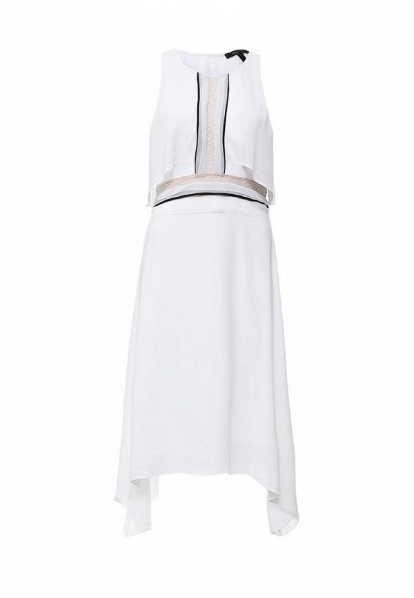 Платье-миди BCBGMAXAZRIA WQR64H01: изображение 1