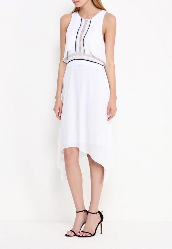Платье-миди BCBGMAXAZRIA WQR64H01: изображение 2
