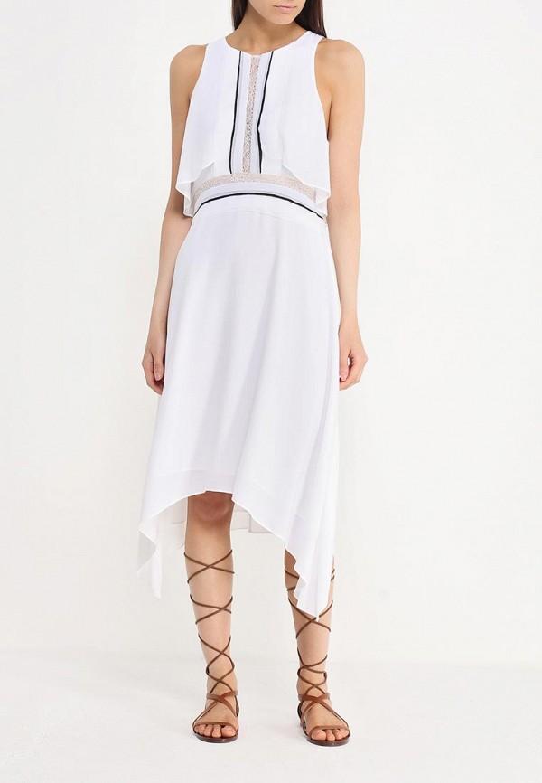 Платье-миди BCBGMAXAZRIA WQR64H01: изображение 3