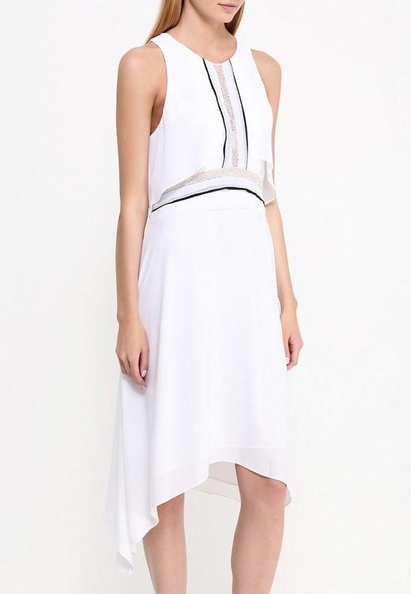 Платье-миди BCBGMAXAZRIA WQR64H01: изображение 4
