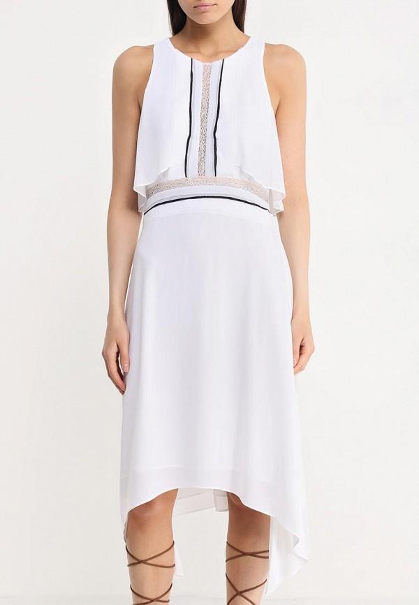 Платье-миди BCBGMAXAZRIA WQR64H01: изображение 5