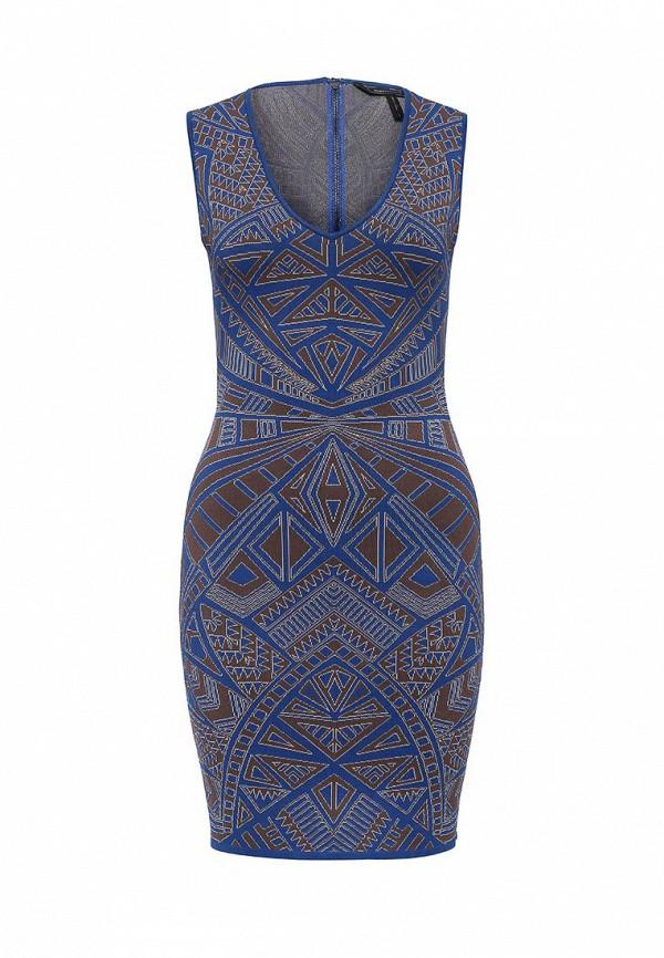 Вязаное платье BCBGMAXAZRIA PGJ69H97