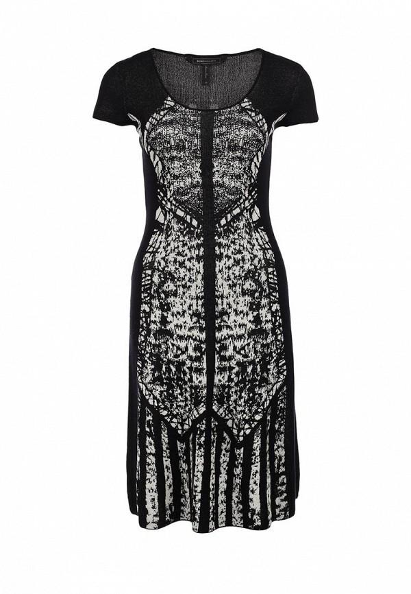 Платье-миди BCBGMAXAZRIA MSF6X310: изображение 1