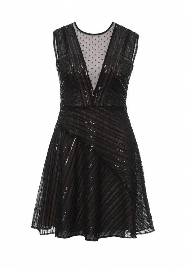 Платье BCBGMaxAzria BCBGMaxAzria BC529EWONL66 цены онлайн