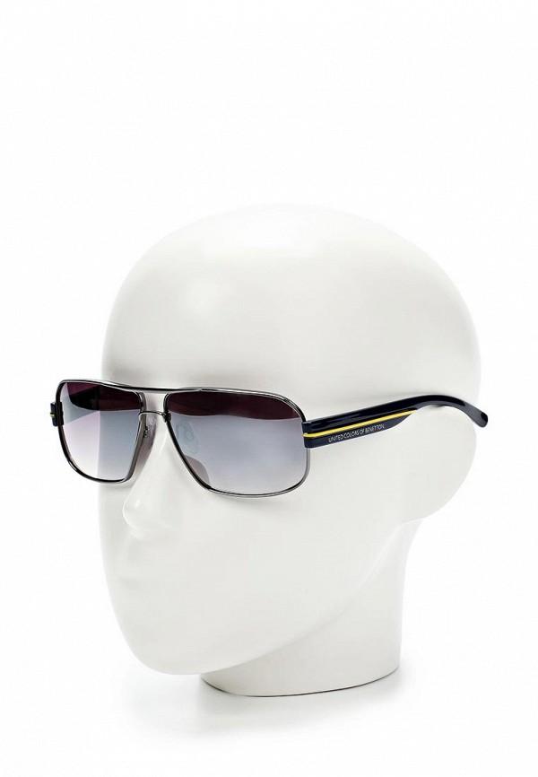 Мужские солнцезащитные очки Benetton (Бенеттон) BE 820 R4: изображение 2