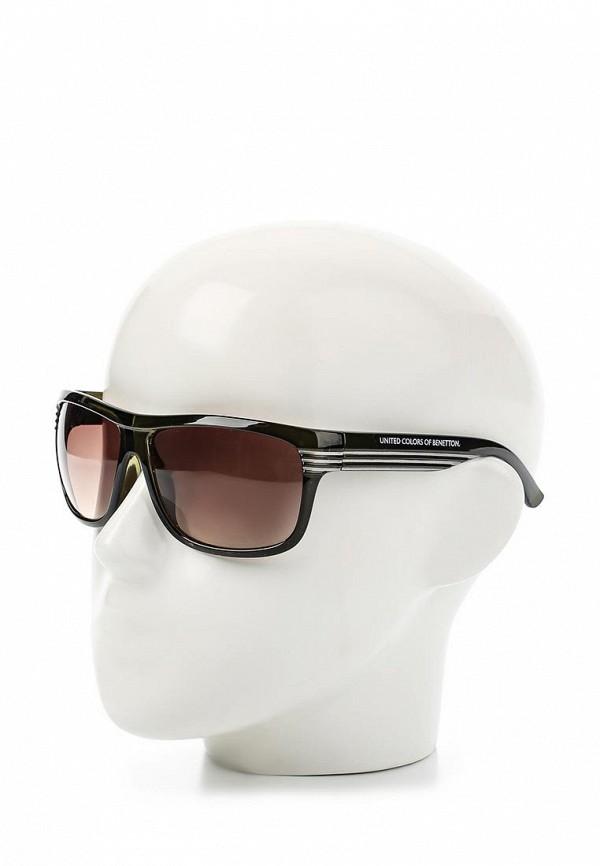 Мужские солнцезащитные очки Benetton (Бенеттон) BE 708 R2: изображение 3
