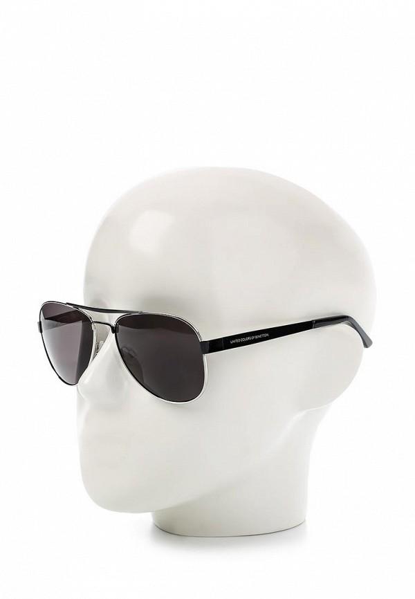 Мужские солнцезащитные очки Benetton (Бенеттон) BE 880S 01: изображение 3