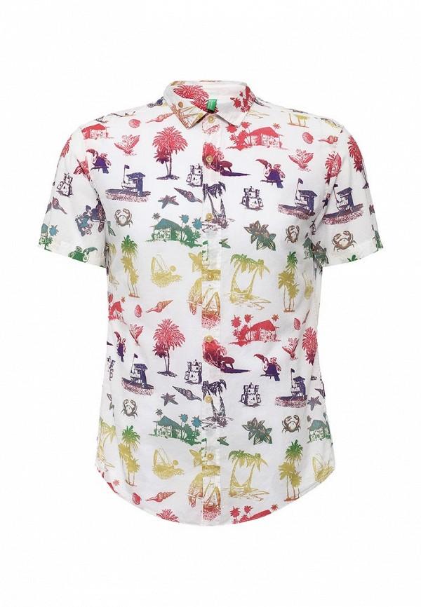 Рубашка с коротким рукавом United Colors of Benetton (Юнайтед Колорс оф Бенеттон) 5AFE5QAE8