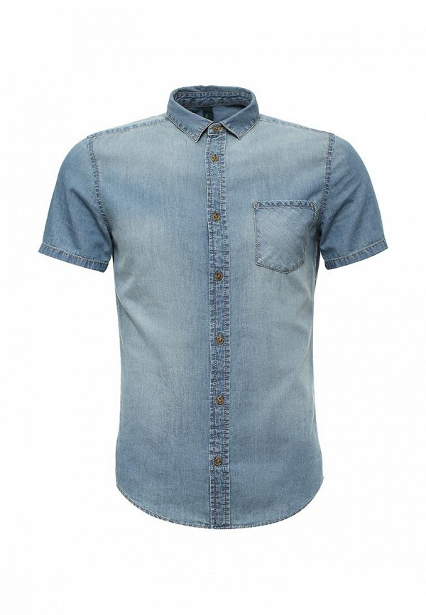 Рубашка с коротким рукавом United Colors of Benetton (Юнайтед Колорс оф Бенеттон) 5LF55QAJ8