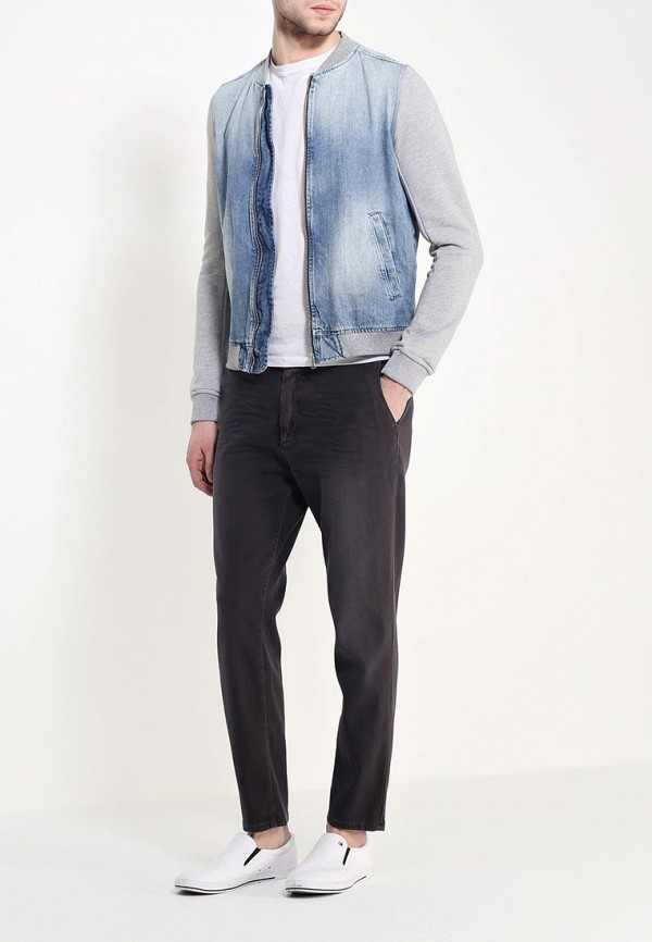 Мужские прямые джинсы Benetton (Бенеттон) 4F5V658X8: изображение 2