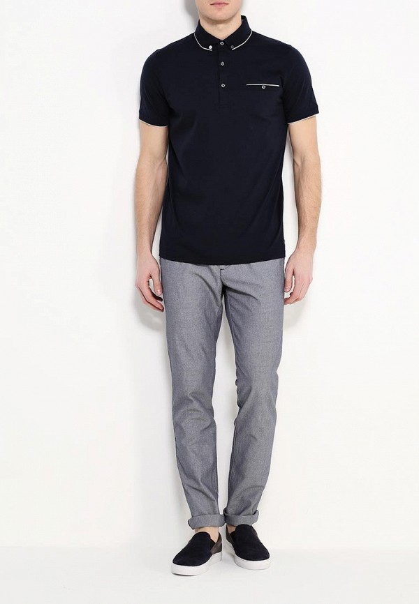 Мужские повседневные брюки Benetton (Бенеттон) 4A2JL5908: изображение 2