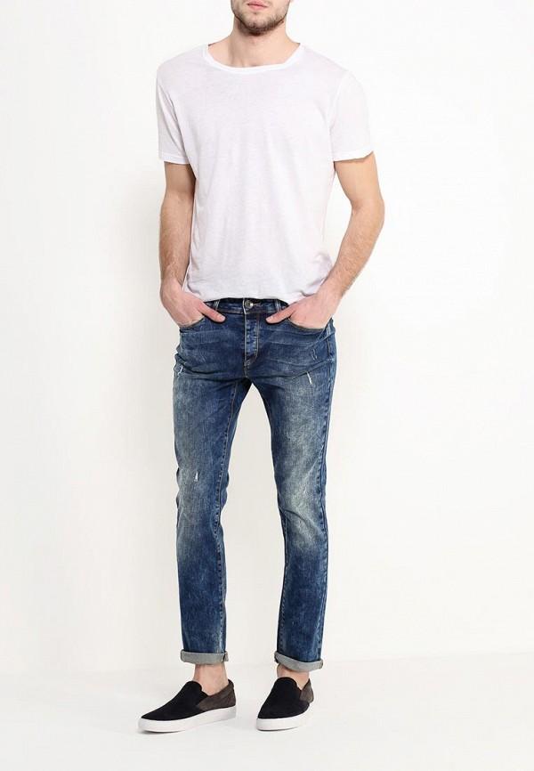 Зауженные джинсы Benetton (Бенеттон) 4TZ157258: изображение 2