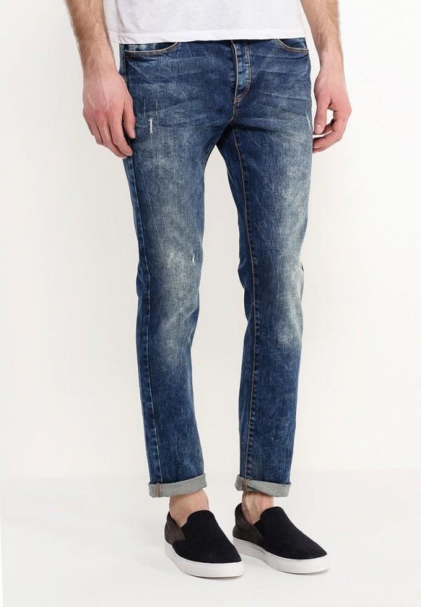 Зауженные джинсы Benetton (Бенеттон) 4TZ157258: изображение 3