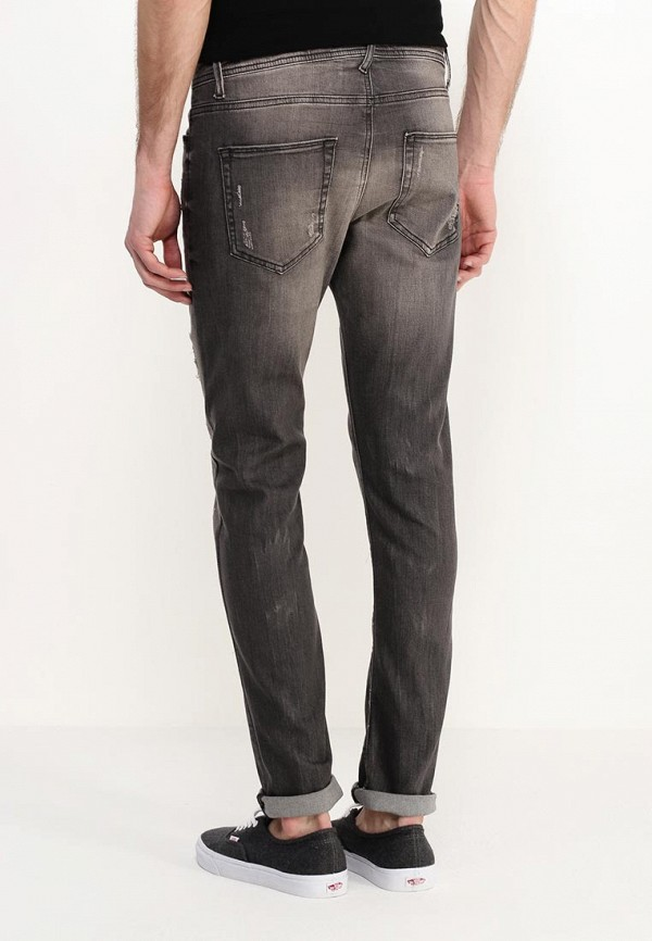 Зауженные джинсы Benetton (Бенеттон) 4S7NT7768: изображение 4