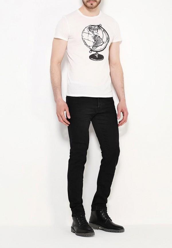 Мужские прямые джинсы Benetton (Бенеттон) 4S3NT72P8: изображение 2