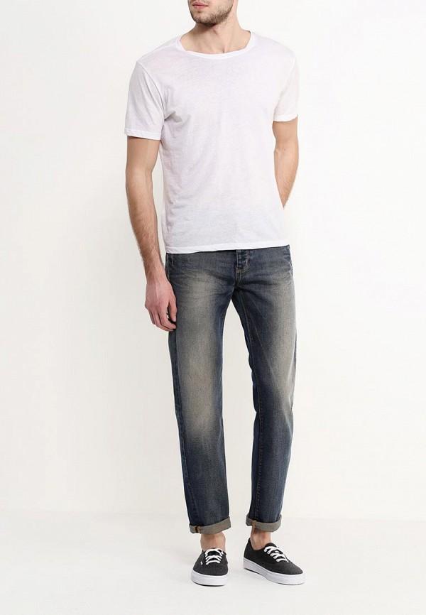 Мужские прямые джинсы Benetton (Бенеттон) 4F92T73J8: изображение 2