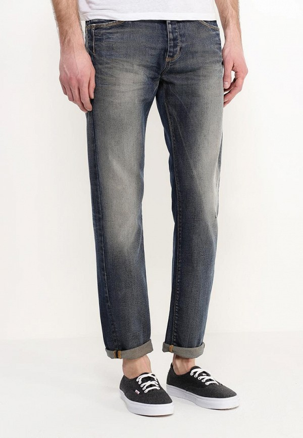 Мужские прямые джинсы Benetton (Бенеттон) 4F92T73J8: изображение 3