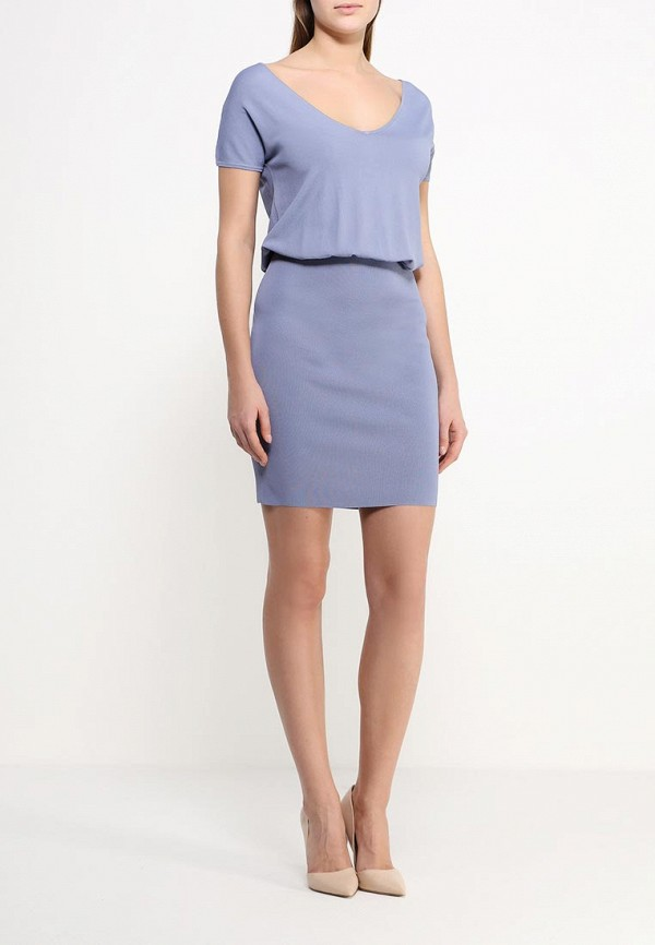 Платье-миди Benetton (Бенеттон) 14ENV4206: изображение 2