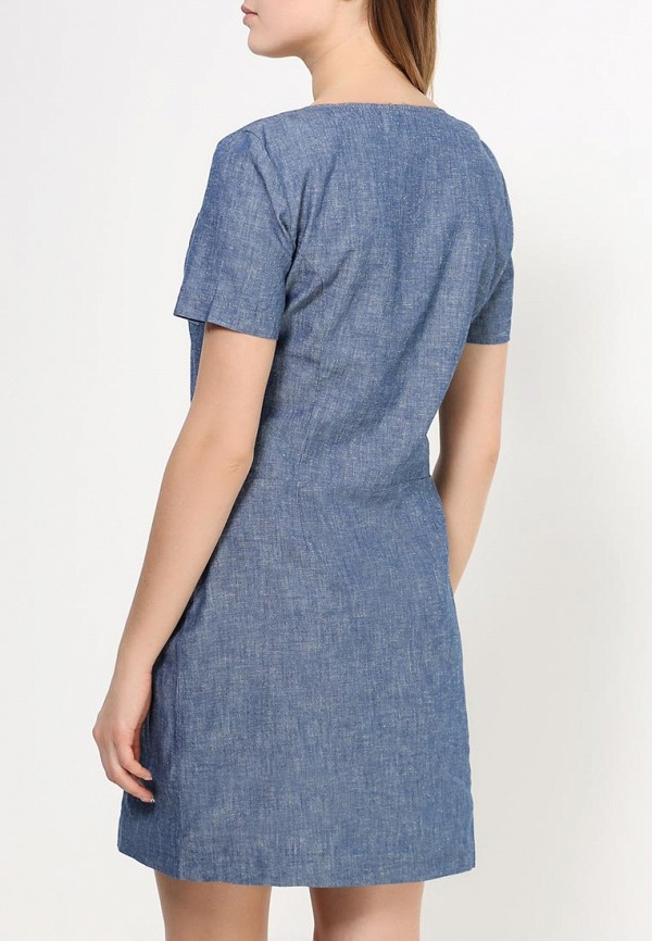 Платье-миди Benetton (Бенеттон) 4TV0LV6O3: изображение 4