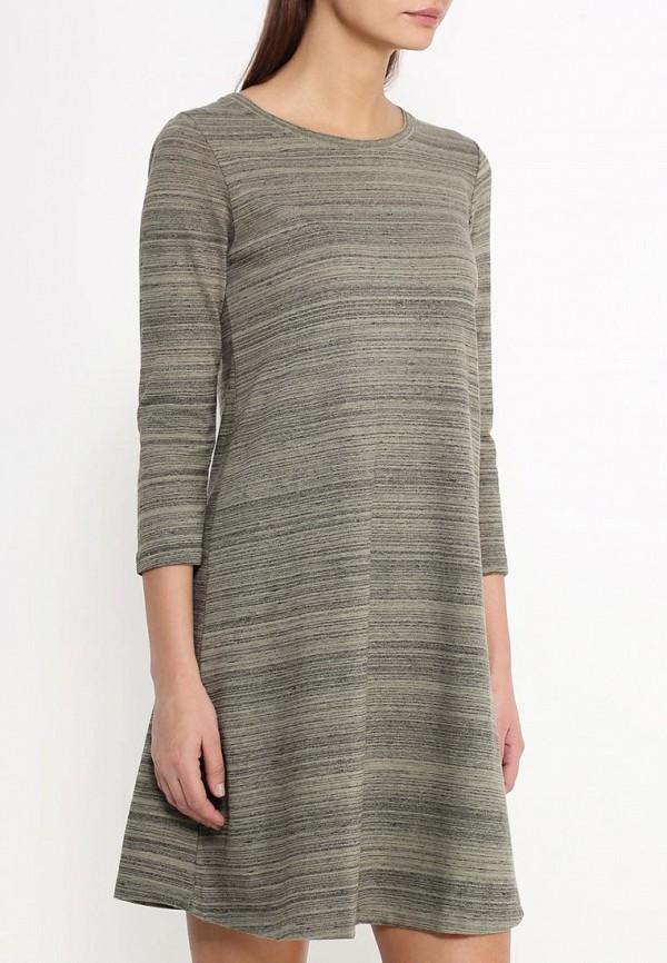 Платье-миди Benetton (Бенеттон) 3S1QV1A06: изображение 3